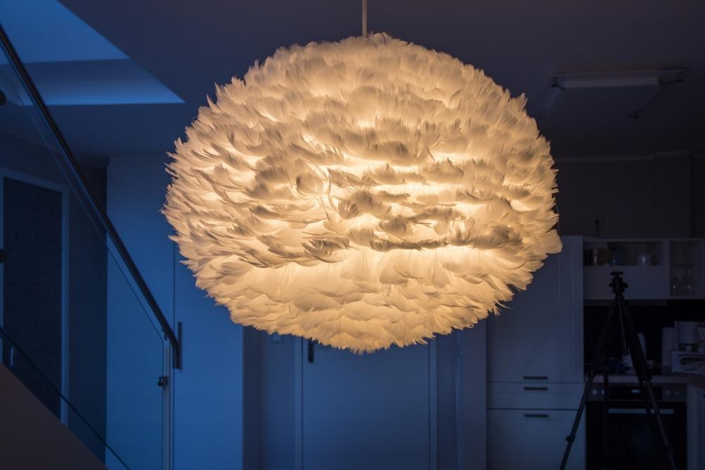 Schmuck: Design-Lampe