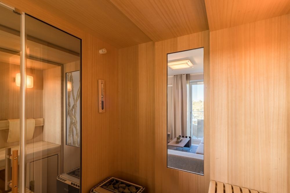 Für 4 Personen: Die Sauna