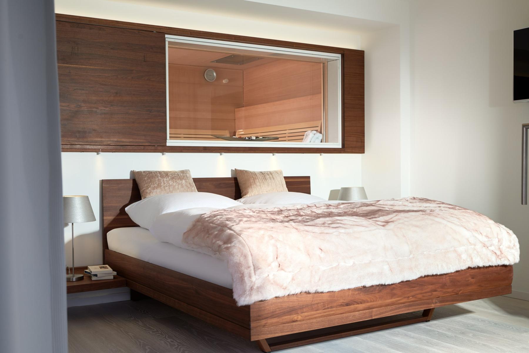 PRORA Ferienwohnung Schlafzimmer