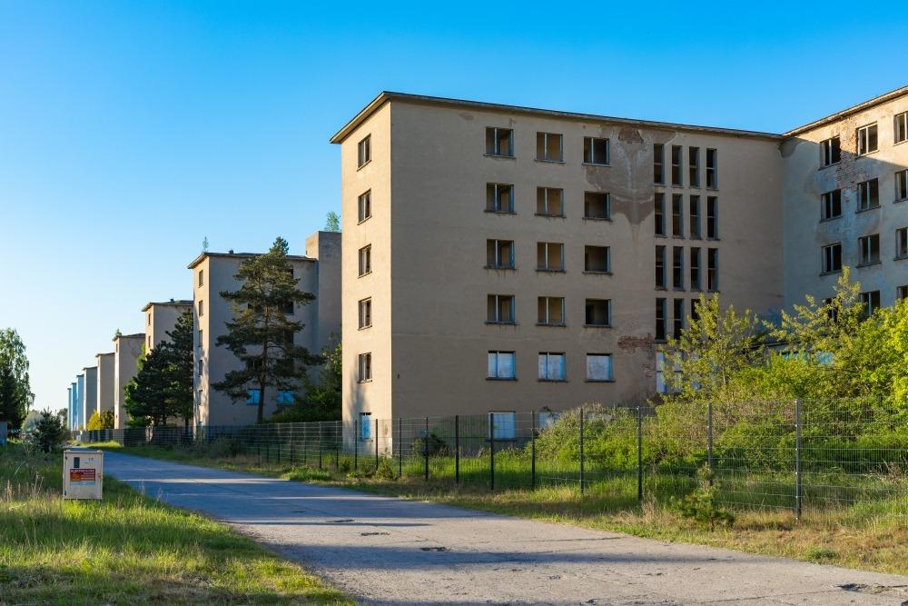 Prora-Fassaden in den 1990ern