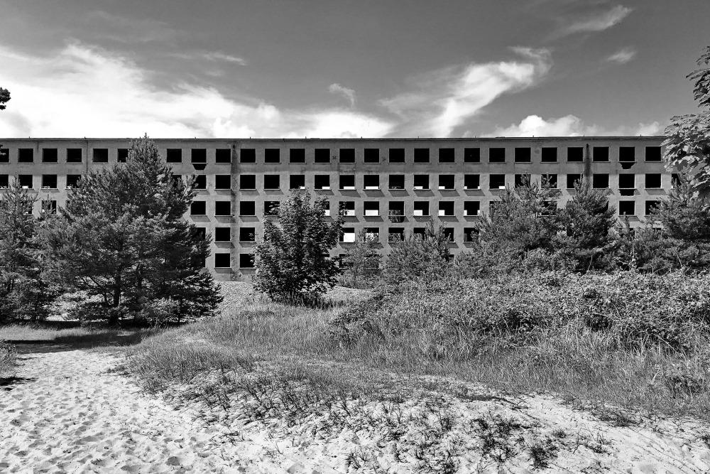 Blick auf Prora-Ruinen